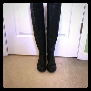 JustFab Scoutt over knee boots